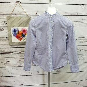 J. Crew Pinstripe button down shirt